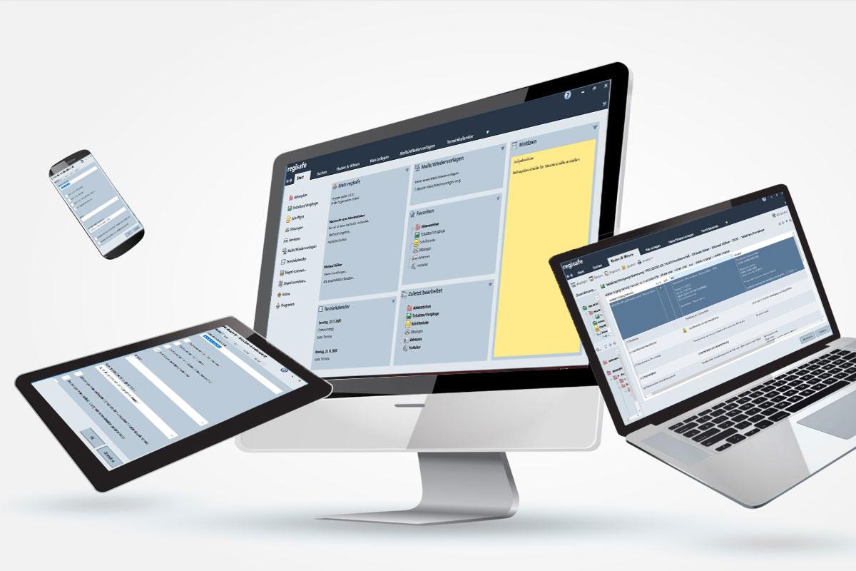 regisafe - mobile Anwendungen