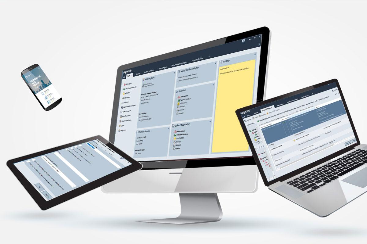 regisafe - mobile Endgeräte